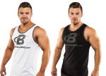 FDN Exclusive - Core B Swoosh Contrast Athlete Tank  $11 W/Coupon