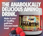 GAT - Muscle Martini (BCAA + Appetite Control + Anti Oxidant)  - $21 - Exclusive Coupon