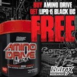 Nutrex Amino Drive + Lipo-6 Black UC $24 w/Exclusive Coupon