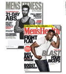Men's Fitness & Men's Health Magazines - 1 Year Subscription – $9.99 w/Exclusive Coupon