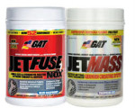 GAT JetFuse NOX Pre workout + Jetmass $46 w/Exclusive Coupon