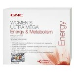 Half Price! GNC Women's Ultra Mega Energy, Fat Loss (30 pk) $6 Shipped