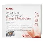 Half Price! GNC Women's Ultra Mega Energy, Fat Loss (30 pk) $6 Shipped