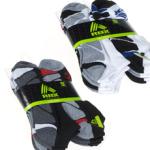 6 Pairs Men & Women's Wicking Socks $8 Shipped