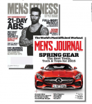 Men's Fitness & Men's Journal Magazines - 1 Year Subscription – $8.99 w/Exclusive Coupon
