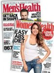 Men's & Women's Health Magazines - 1 Year Subscription – $9.99 w/Exclusive Coupon