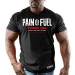 """Men's Pain is Fuel: Train On"" T-shirt $20 Shipped"