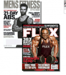 Flex & Men's Fitness Magazines 1 Year Subscription - $7.99 (12 Issues!) w/Coupon
