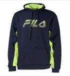Fila Men's In The Hood Pullover Fleece Hoodie $10