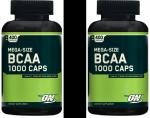 Optimum Nutrition BCAA Mega Size 1000 - 800 tabs (2x400) - $27!