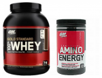 Free AmiNO Energy (30s) w/Gold Standard 5LB - $57.99
