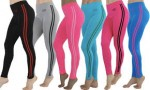 6-Pack of Women's Double-Stripe Workout Pants $34 w/Coupon