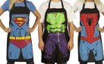 2-Pack Superhero Cooking Aprons $22 Shipped
