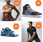 Up to 80% OFF Reebok Outlet w/ Coupon + Free Shipping