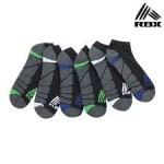 12 Pairs: RBX Men's Cushioned Moisture Socks $19 Shipped