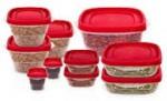 20-Piece Plastic Storage Set $13