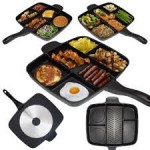 The Master Pan – Cook 5 Foods on One Burner $80 Shipped