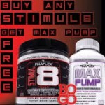 Finaflex Stimul8 + FREE Max Pump $28 w/Exclusive Coupon