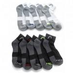 Half Price. 20 Pairs of Men's HEAD Moisture-Wicking Socks $24