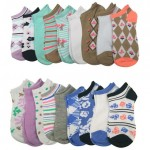 18-Pack Chatties Women's Ankle Socks $10