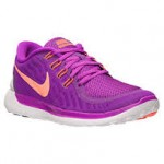 Women's Nike Free 4.0 V5 Print Running Shoes - $49.98