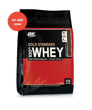 8LB Gold Standard Protein - <span> $64.99 Shipped </span> w/ Coupon