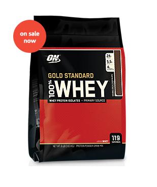 8LB 100% Gold Standard Protein - <span> $64.99 Shipped</Span> w/ Vitamin Shoppe Coupon