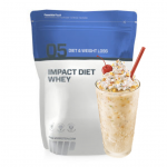 3.2LB Impact Diet Whey Protein+ 12x 37g Protein Cookie - $38.99