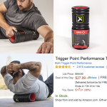 'The Grid' Revolutionary Foam Roller - $28 - Amazon Deal Of the Day