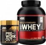 5LB ON 100% Gold Standard + Gold Standard PWO - $46! w/ Vitamin Shoppe Coupon