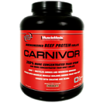 30% OFF MUSCLEMEDS - 4.6LB CARNIVOR BEEF ISOLATE PROTEIN - $34 Shipped