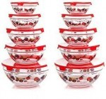 20-Piece Set: Chef Buddy Glass Bowls with Lids $27