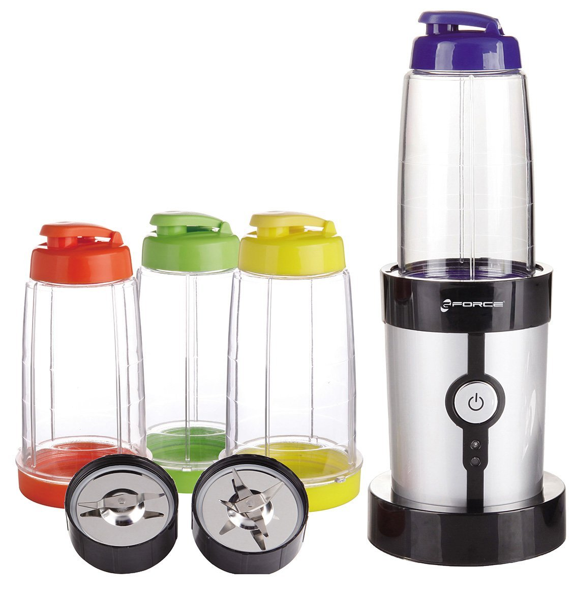 15 Piece Set Mini Blender with Travel Lids and Cups $33.99