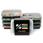 Meal Management - 7PK Meal Prep Haven - Containers $15.95 Free Shipping