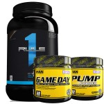 2LB  Whey Blend + Game Day + Pump Powder - $49.99 w/ Campus Protein Coupon
