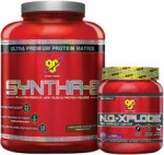 5LB BSN SYNTHA 6+ N.O Xplode -  $39.99 + Free Shipping w/ Vitamin Shoppe Coupon