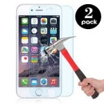 2-Pack Tempered Glass for Apple iPhone - $7.99 Shipped