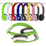 Over the Head DJ Style Folding Headsets - $9.99 Shipped