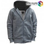 Sherpa Lined Sweater With Drawstring Hoodie - $17.99 Shipped