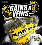 MAN Sports Pump Powder - $28 + Free Shirt w/ Suppz coupon