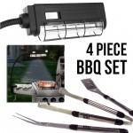 4 Piece BBQ Set - $14.99 Shipped