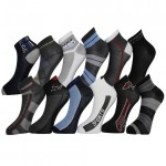 24 Pairs: Frenchic Cotton-Blend Sport Socks - $14.99