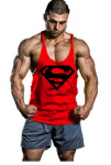 Moge BodyBuilding Superman Stringer $9 + Free Shipping