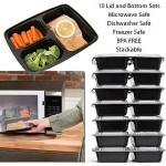 10 Pack of Bento Box Lunch Container - $7.99 Shipped