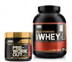 5LB 100% Whey Gold Standard + Gold Standard Pre Workout <span> $52 + Free Shipping!!</span>