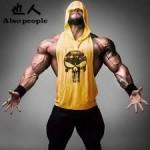Bodybuilding Stringer Hoodie Logo - $14.99 Shipped