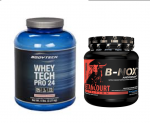 5LB BodyTech Whey Pro 24 + B-NOX Pre Workout - $49.99 Shipped