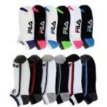 6 Pairs: Women's Fila Shock Dry Socks - $7.99 Free Shipping