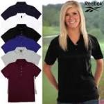 Reebok Women's Platinum Cotton Polo Shirt - $6 Shipped