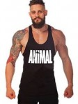 Animal Letter Print Stringer Tank -<span> $5.99 Shipped </span>